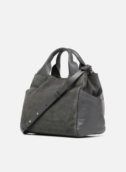 Handbags Clarks Talara Wish Grey view from the right