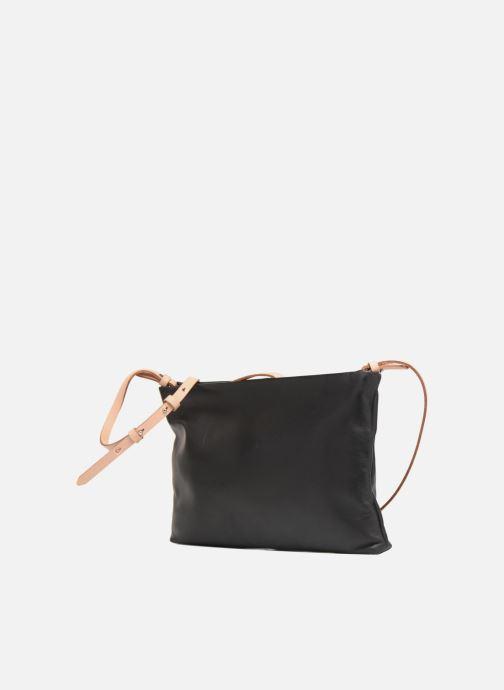 Handtaschen Clarks Tara Shine schwarz schuhe getragen