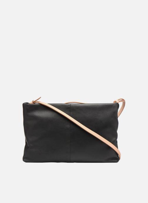 Handtaschen Clarks Tara Shine schwarz ansicht von vorne