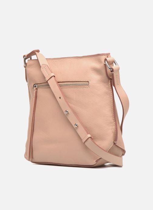 Handtaschen Clarks Topsham Jewl rosa ansicht von rechts
