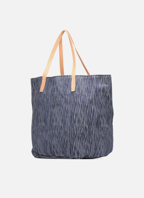 Handtaschen Clarks Marva Sun blau ansicht von rechts