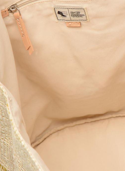 Håndtasker Clarks Marva Sun Beige se bagfra