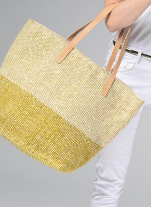 Handtaschen Clarks Marva Sun beige ansicht von unten / tasche getragen
