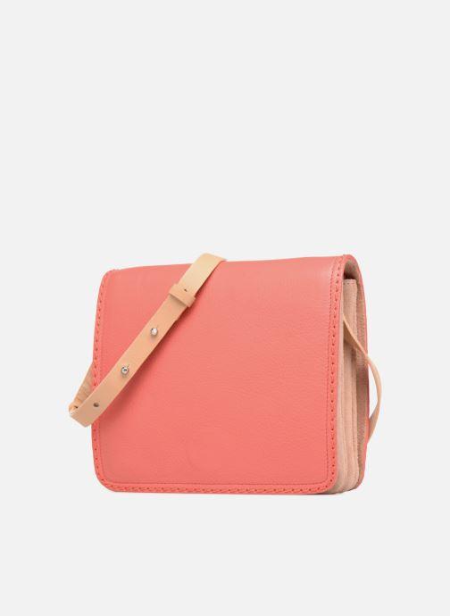 Handbags Clarks Teddington Way Orange model view