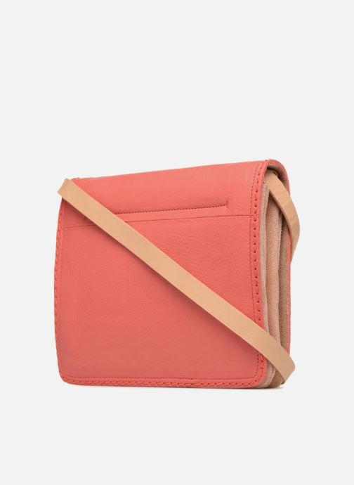Handtaschen Clarks Teddington Way orange ansicht von rechts