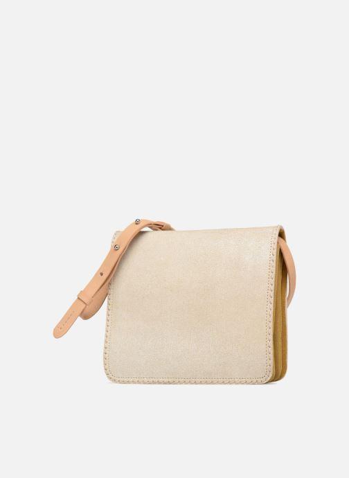 Handtaschen Clarks Teddington Way beige schuhe getragen