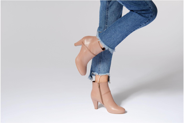 Bottines et boots Georgia Rose Halicroc Bleu vue bas / vue portée sac