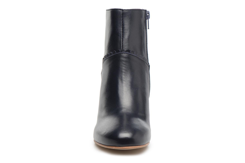 Bottines et boots Georgia Rose Halicroc Bleu vue portées chaussures