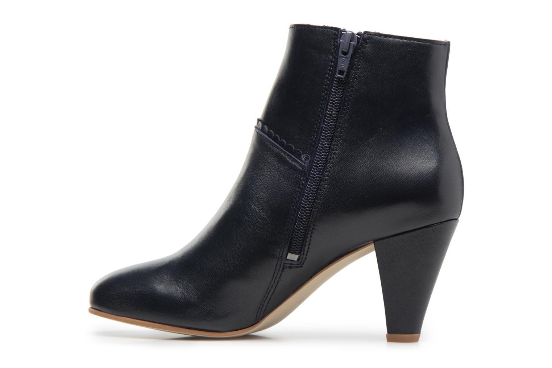 Bottines et boots Georgia Rose Halicroc Bleu vue face