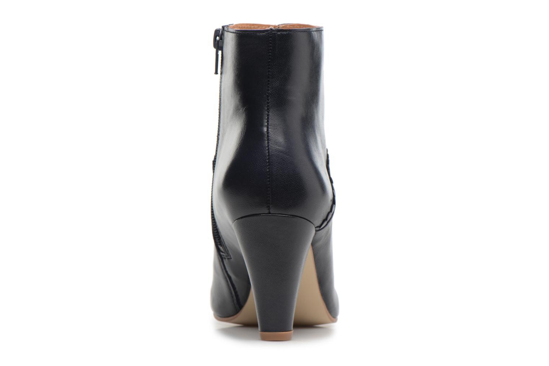 Bottines et boots Georgia Rose Halicroc Bleu vue droite