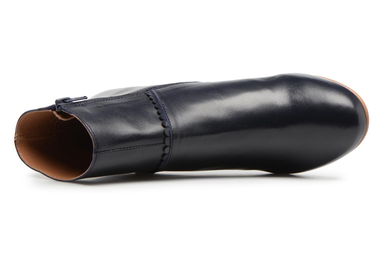 Bottines et boots Georgia Rose Halicroc Bleu vue gauche