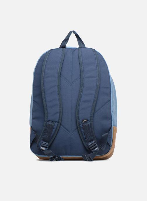 Scolaire Vans Old school plus backpack Bleu vue face