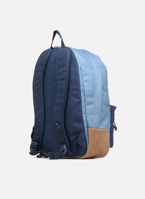 Bandoleras y Colegio Vans Old school plus backpack Azul vista lateral derecha
