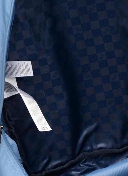 Schulzubehör Vans Old school plus backpack blau ansicht von hinten