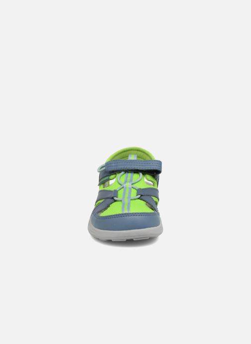 Sandales et nu-pieds Columbia Techsun Wave Gris vue portées chaussures
