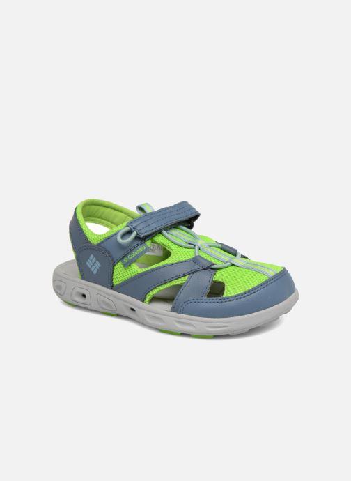 Sandales et nu-pieds Columbia Techsun Wave Gris vue détail/paire