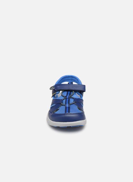 Sandales et nu-pieds Columbia Techsun Wave Bleu vue portées chaussures