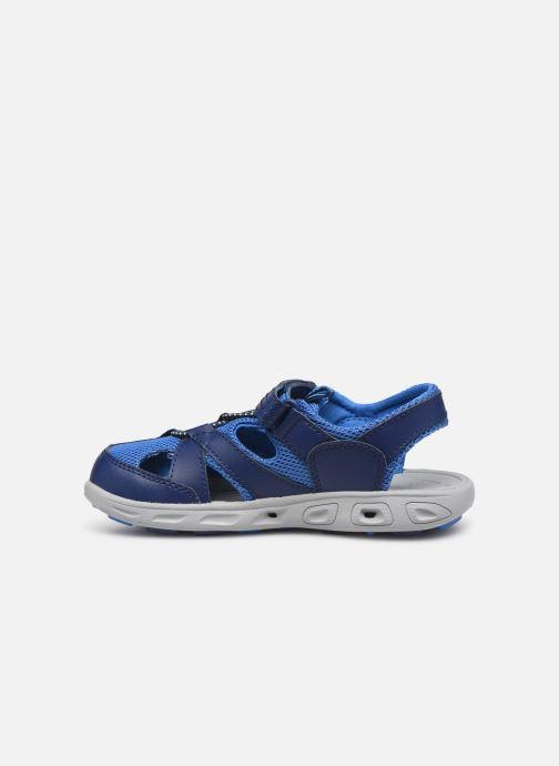 Sandales et nu-pieds Columbia Techsun Wave Bleu vue face