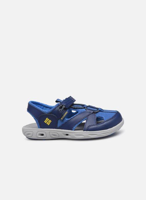 Sandales et nu-pieds Columbia Techsun Wave Bleu vue derrière