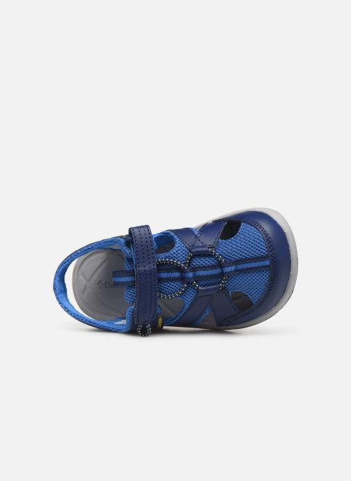 Sandales et nu-pieds Columbia Techsun Wave Bleu vue gauche