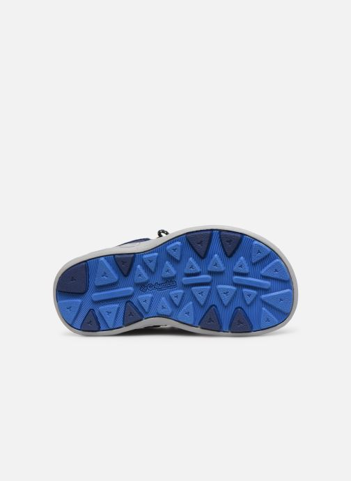 Sandales et nu-pieds Columbia Techsun Wave Bleu vue haut