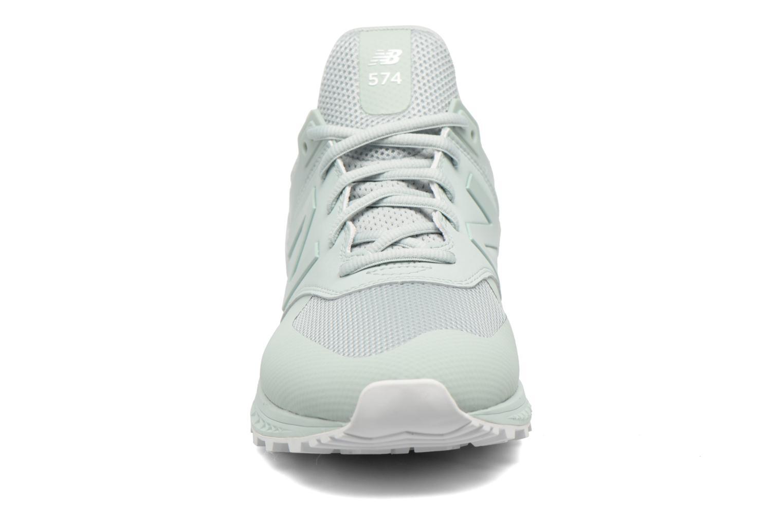 Sneakers New Balance MS574SMT-D Verde modello indossato
