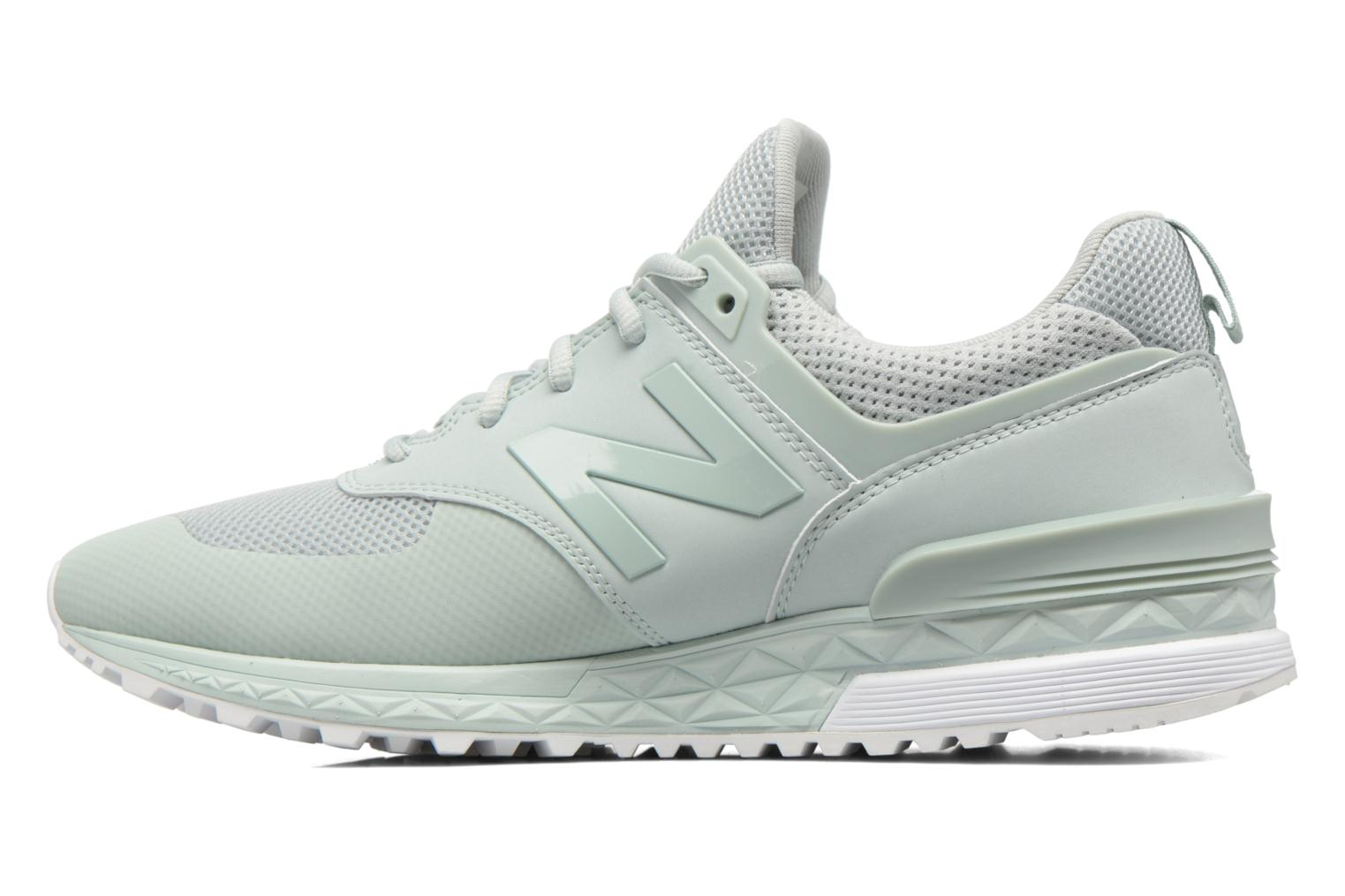 Sneakers New Balance MS574SMT-D Verde immagine frontale