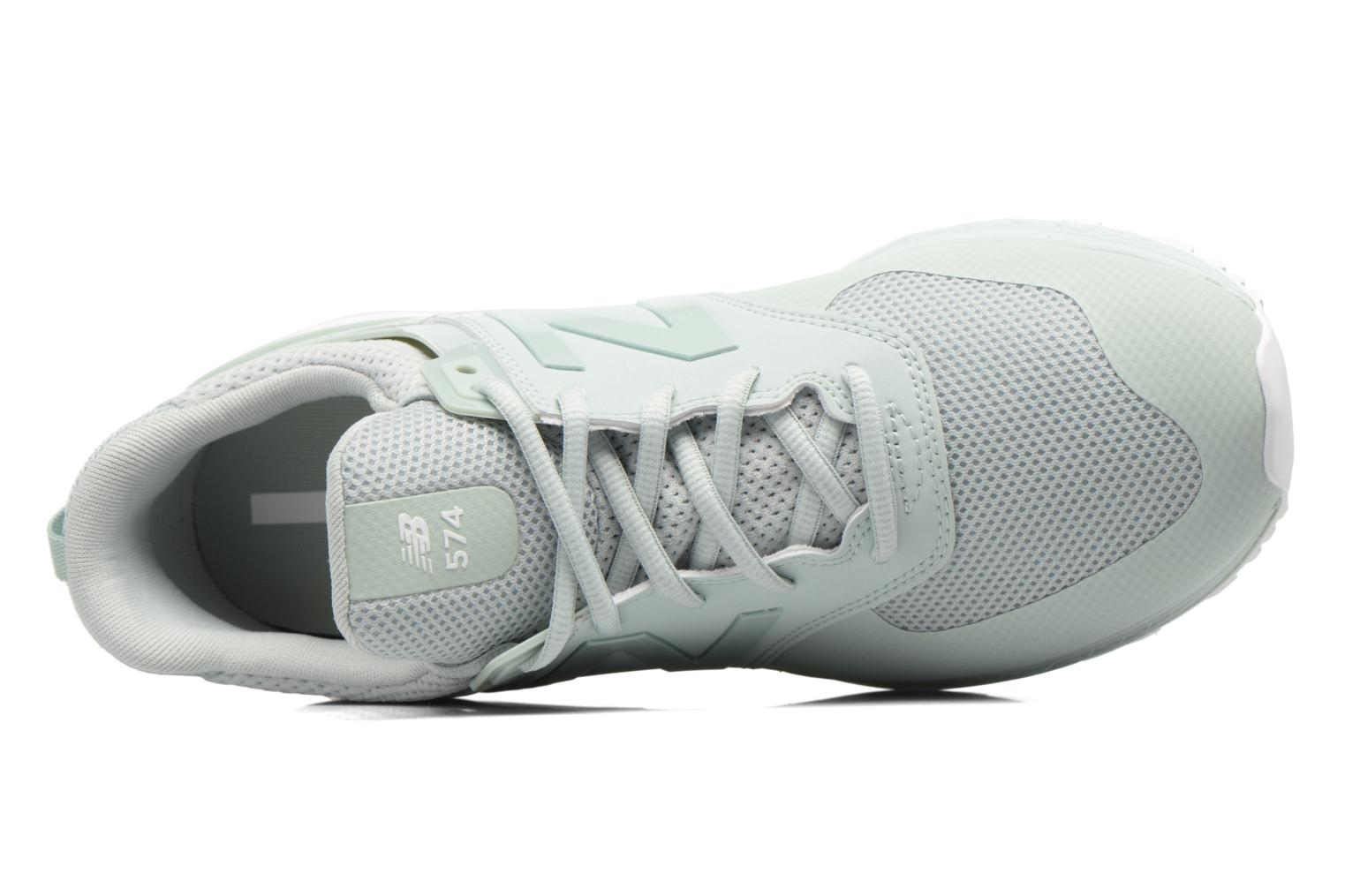 Sneakers New Balance MS574SMT-D Verde immagine sinistra