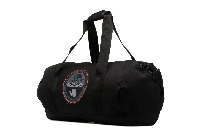 Sporttaschen Napapijri Hoyal Duffle schwarz schuhe getragen