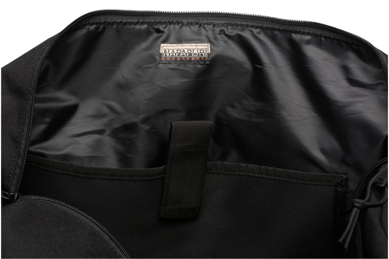 Sporttaschen Napapijri Hoyal Duffle schwarz ansicht von hinten