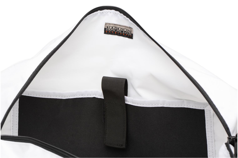 Sporttaschen Napapijri Hoyal Duffle weiß ansicht von hinten