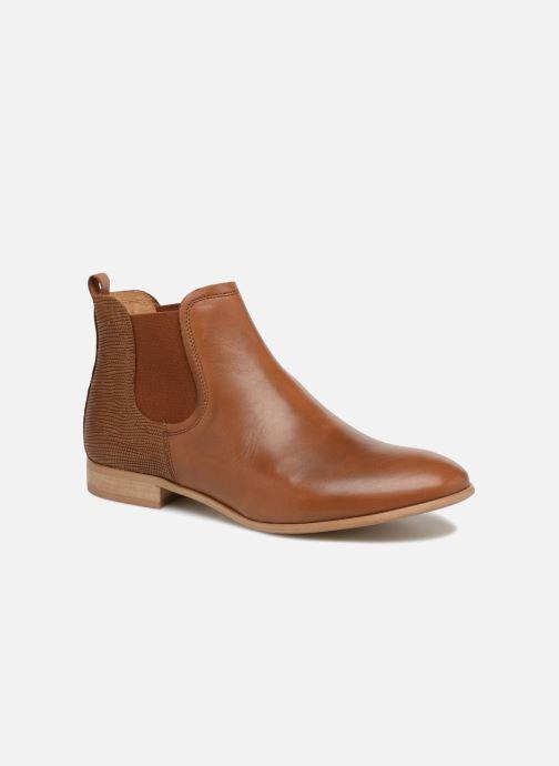 Boots en enkellaarsjes Georgia Rose Aniline Bruin detail