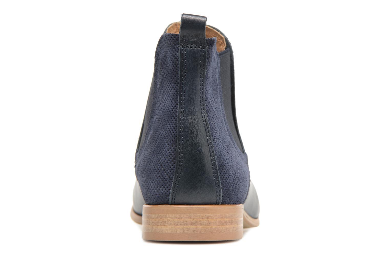 Bottines et boots Georgia Rose Aniline Bleu vue droite