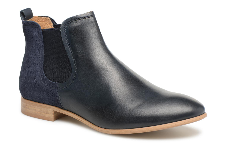 Bottines et boots Georgia Rose Aniline Bleu vue détail/paire