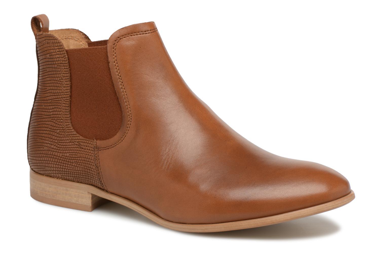 Bottines et boots Georgia Rose Aniline Marron vue détail/paire