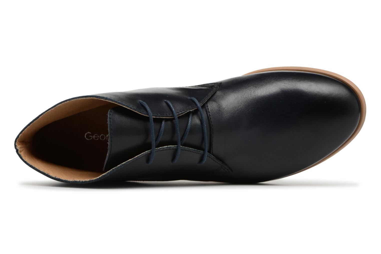 Chaussures à lacets Georgia Rose Anilace Bleu vue gauche