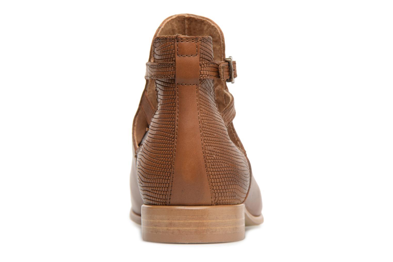 Bottines et boots Georgia Rose Anistripe Marron vue droite