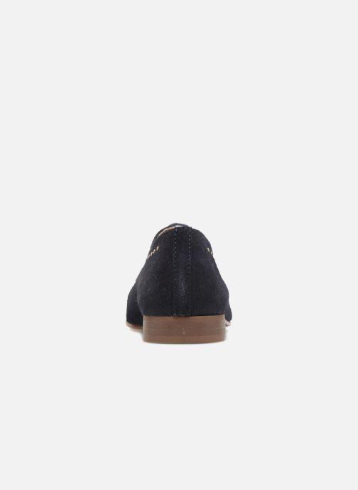 Chaussures à lacets Georgia Rose Aliclous Bleu vue droite