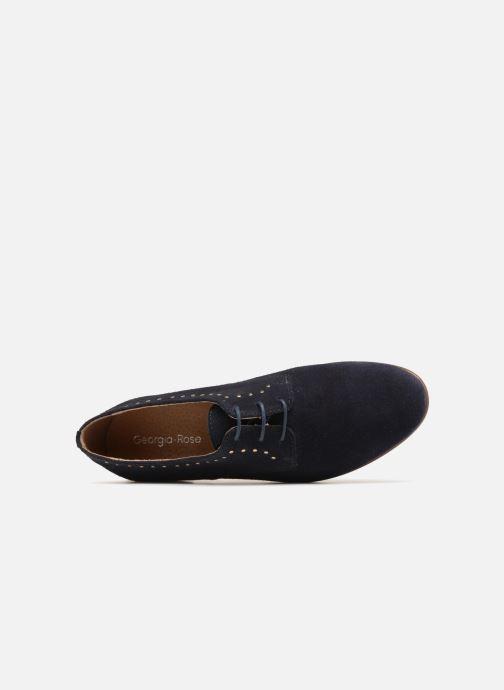 Chaussures à lacets Georgia Rose Aliclous Bleu vue gauche