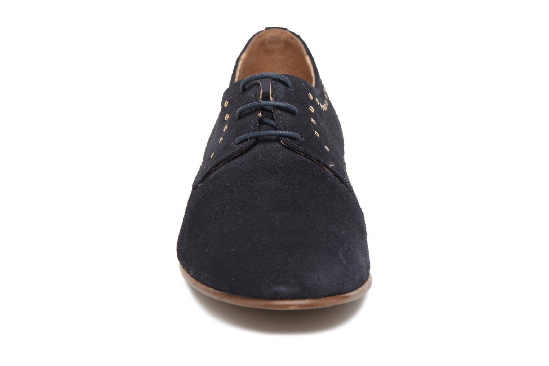 Chaussures à lacets Georgia Rose Aliclous Bleu vue portées chaussures