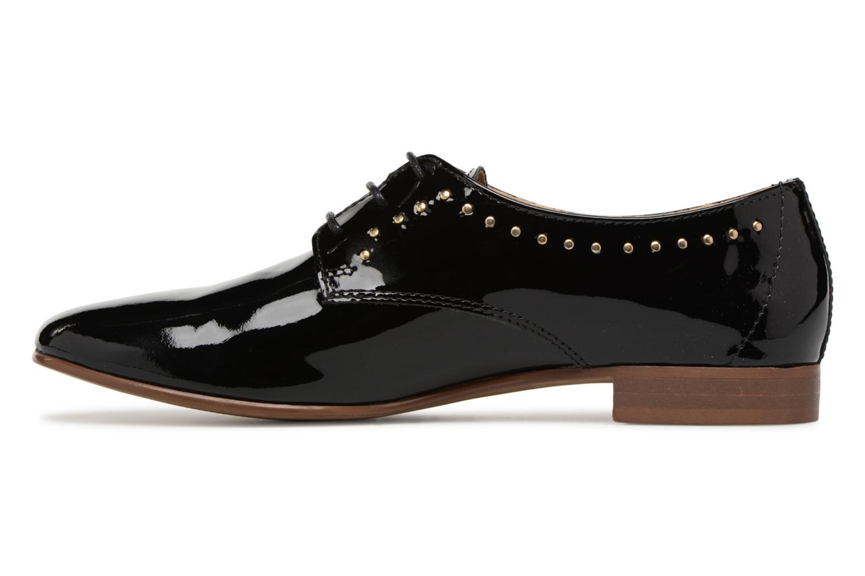 Chaussures à lacets Georgia Rose Aliclous Noir vue face