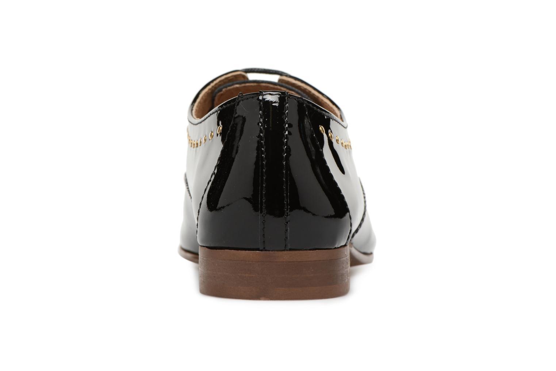 Chaussures à lacets Georgia Rose Aliclous Noir vue droite