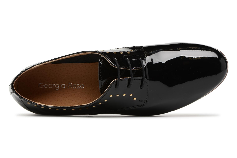 Chaussures à lacets Georgia Rose Aliclous Noir vue gauche