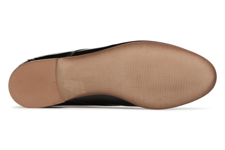 Chaussures à lacets Georgia Rose Aliclous Noir vue haut