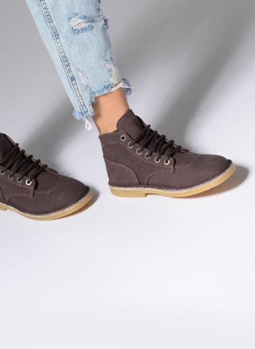Bottines et boots Kickers Orilegend New Marron vue bas / vue portée sac
