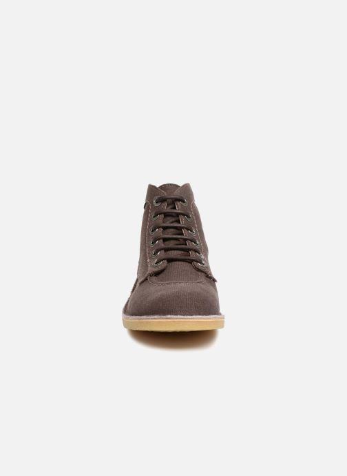Bottines et boots Kickers Orilegend New Marron vue portées chaussures