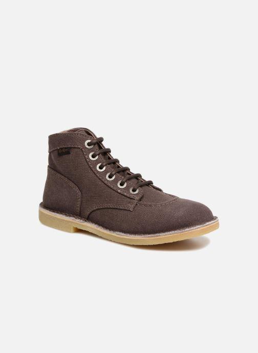 Bottines et boots Kickers Orilegend New Marron vue détail/paire