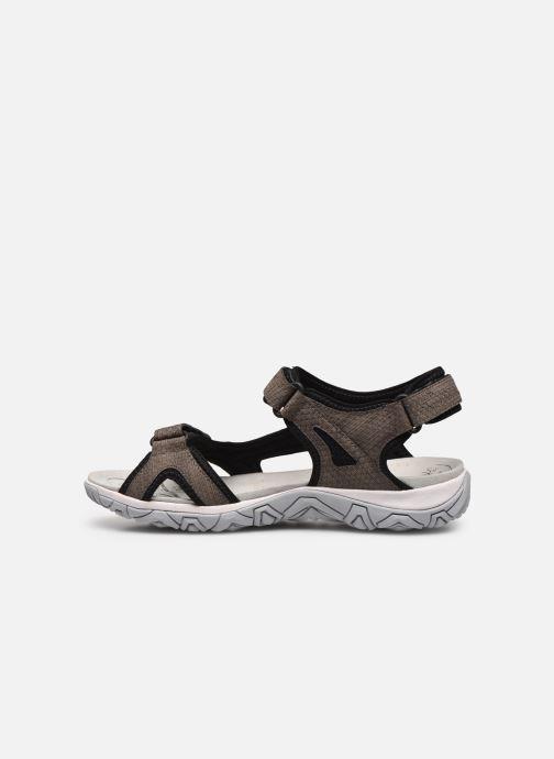 Zapatillas de deporte ALLROUNDER Larisa Gris vista de frente
