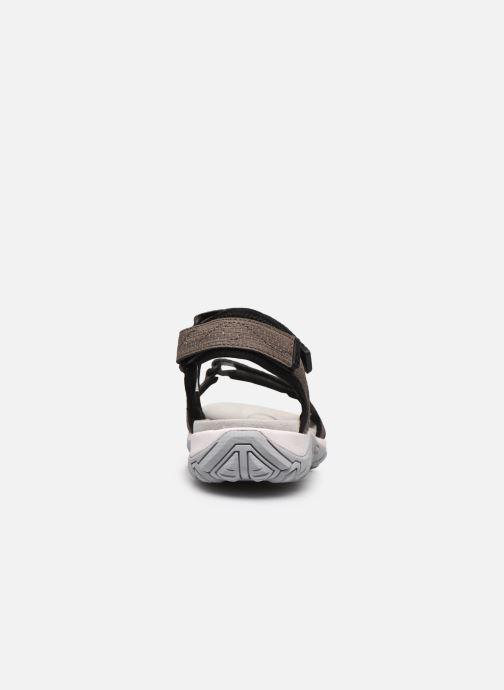 Zapatillas de deporte ALLROUNDER Larisa Gris vista lateral derecha