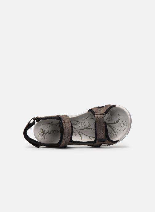 Zapatillas de deporte ALLROUNDER Larisa Gris vista lateral izquierda